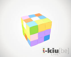i-kiube - Take your turn on the first online multiplayer Rubiks Cube!